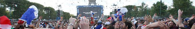 Der EM-Tag: 18:48 Frankreich bejubelt Les Bleus