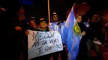 """""""Geh nicht, Leo!"""": Argentinien will Messi bekehren"""
