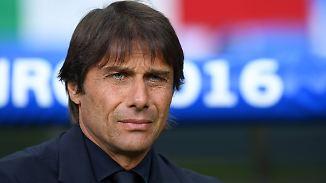 """Antonio Conte zum Spiel gegen DFB-Elf: """"Wir werden uns übermenschlich anstrengen müssen"""""""