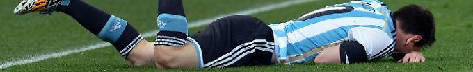 Der EM-Tag: 9:21 WM-Helden von 1986 flehen Messi an