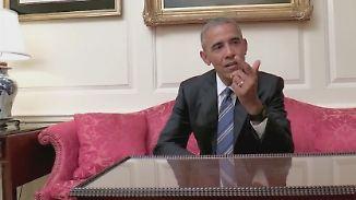 """Witziger Aufruf zur Präsidentenwahl: Obama zählt """"Game of Thrones""""-Tote auf"""
