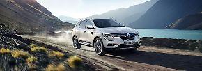 Anfang 2017 startet die zweite Generation des Renault Koleos auf den Markt. Die auf Wunsch mit Allrad erhältliche Neuauflage ist die französische Variante des Nissan X-Trail, ...