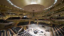 """""""Gläserne Welle"""" auf der Zielgeraden: Konzertsaal der Elbphilharmonie übergeben"""
