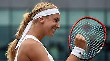 """Doris Becker"" zurück in Wimbledon: Sabine Lisicki serviert Favoritin Stosur ab"