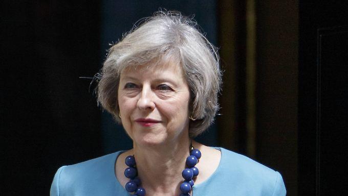Theresa May will Chefin der Konservativen werden - das gilt als gleichbedeutend mit dem Amt des Premiers.
