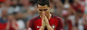 Und es wird in Marseille zunächst nicht besser, zumindest für Ronaldo.