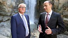 """""""So schleunig wie möglich"""": Steinmeier will Visumsfreiheit für Georgier"""