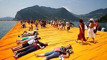 Eine Million Besucher am Iseosee: Letzte Chance für die Floating Piers