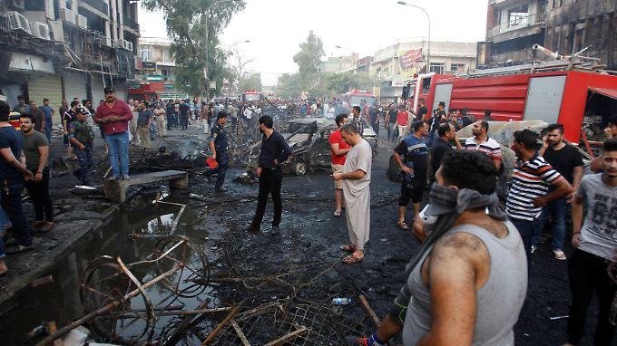 Über 200 Tote bei IS-Anschlag: Sicherheitskräfte in Bagdad sollen Verstärkung erhalten