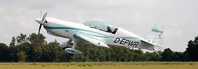 Ein Flugzeug von Siemens der Zertifizierungs-Kategorie CS23. Der Motor hat eine Leistung von 260 Kilowatt und ein Gewicht von nur 50 Kilogramm.