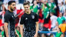 Wer ersetzt Khedira im DFB-Team?: Klopps Wuchtspieler vs. Mini-Kroos