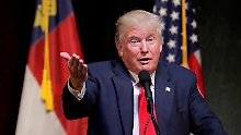 """Er tötete Terroristen"": Donald Trump lobt Saddam Hussein"
