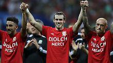 Bale hat noch nicht genug: Wales geht mit erhobenem Haupt