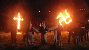 Beängstigender Zulauf in den USA: Ku Klux Klan erklärt Donald Trump zum Vorbild