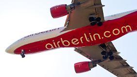 Kosten sparen durch Leasing: Air Berlin fliegt ohne eigene Flugzeuge