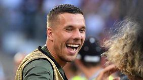 Lukas Podolski: Seit 2004 in der deutschen Nationalmannschaft