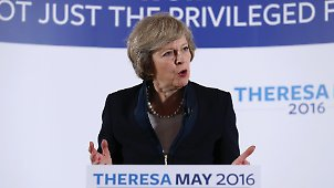 Themenseite: Theresa May
