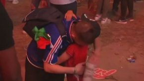 Rührender EM-Moment: Zehnjähriger Portugal-Fan tröstet weinenden Franzosen