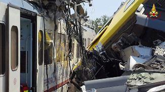 Unglück in der Nähe von Bari: Viele Tote und Verletzte bei Zugkollision