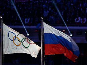 Die russischen Leichtathleten durften wegen des systematischen Dopings nicht an den Wahlen teilnehmen.