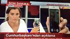 In einem live übertragenen Telefonanruf beim Sender CNN Türk ruft Erdogan das Volk zu öffentlichen Versammlungen gegen die Putschisten auf.