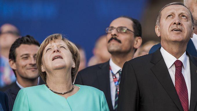 Zuletzt nicht immer einer Meinung: Kanzlerin Merkel und Präsident Erdogan.