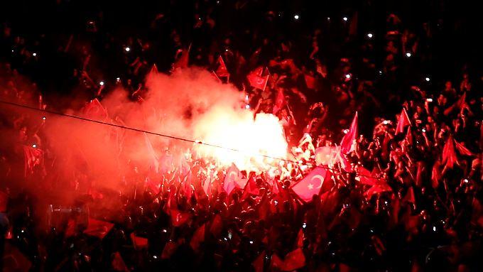 Regierungskritische Demonstrationen sind auf dem Taksim-Platz in Istanbul seit den Protesten 2013 verboten.