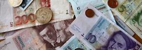 Nostalgie nach 14 Jahren Euro: Deutsche horten fast 13 Milliarden D-Mark