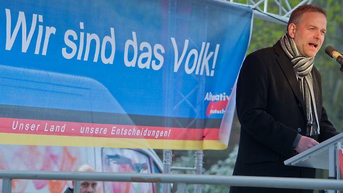 Führt die AfD als Spitzenkandidat in den Wahlkampf in Mecklenburg-Vorpommern: Leif-Erik Holm.