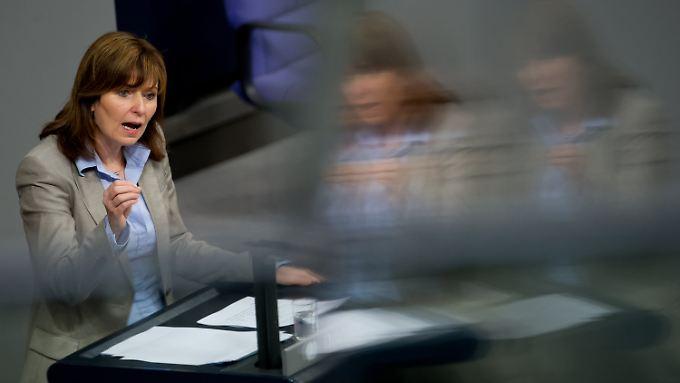 Nach dem Ausscheiden aus dem Bundestag steht für Petra Hinz nun der Austritt aus der SPD an.