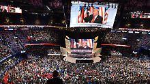 Parteitags-Finale der Republikaner: Alle für Trump