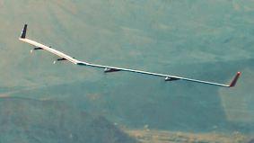 Internetzugang für alle: Facebooks Solar-Drohne Aquila absolviert Jungfernflug