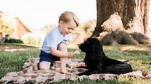 Mit Hund und Eis im Garten: Die süßeste Versuchung, seit es Royals gibt