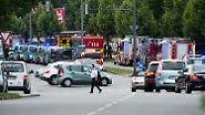 Amoklauf in München: Viele Tote und Verletzte nach Schüssen