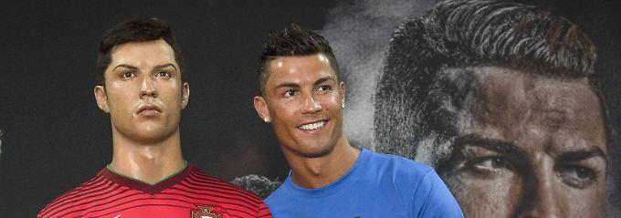 Ronaldo mit Ronaldo vor Ronaldo.