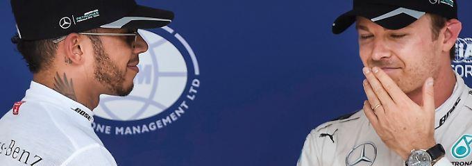 Quali zum Ungarn-Grand-Prix: Rosberg muss um Pole-Position bangen