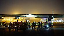 Weltumrundung fast geschafft: Sonnenflieger startet zur letzten Etappe