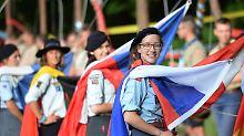 Polen, Pilger und der Papst: Junge Katholiken treffen sich in Krakau