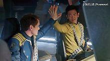 "Promi-News des Tages: Produzenten lassen ""intime"" Szene aus ""Star Trek Beyond"" rausschneiden"