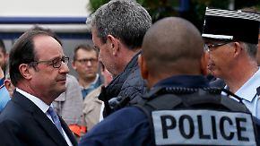 """Ein Priester und zwei Täter tot: Hollande: Geiselnahme in Kirche in Frankreich ist """"Terroranschlag"""""""