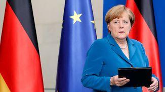 Kritik aus dem In- und Ausland: Merkel gerät nach Anschlägen in Deutschland unter Druck