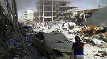 Doppelanschlag auf Kurden in Syrien: 55 Menschen sterben bei IS-Attentaten