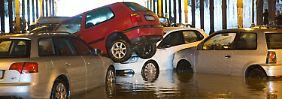 #Weltuntergang in der Hauptstadt: Unwetter setzt Berlin unter Wasser