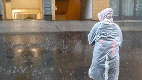 Nur vereinzelt Sonnenschein: Regen und Gewitter dominieren die Wetterkarte