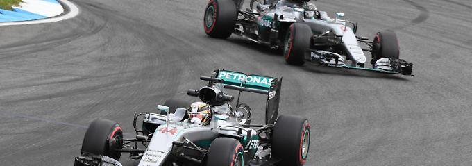 Kampf der Silberpfeile: Rosberg legt am Hockenheimring vor