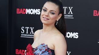 Promi-News des Tages: Ist Mila Kunis' Familie mit Kind zwei komplett?