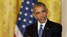 """Republikaner sollen sich abwenden: Obama: """"Trump ist ungeeignet"""""""
