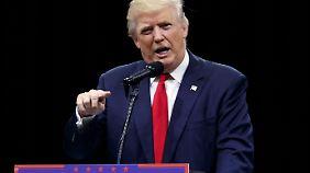 Noch ein Eklat: Trump lässt schreiendes Baby aus dem Saal werfen