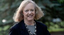 Will ihre republikanischen Freunde dazu bringen, für Clintons Wahlkampf zu spenden: Meg Whitman.