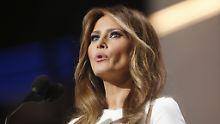 """""""Ich habe mich zu jedem Zeitpunkt vollumfänglich an die Einwanderungsbestimmungen dieses Landes gehalten. Punkt"""", sagt Melania Trump."""